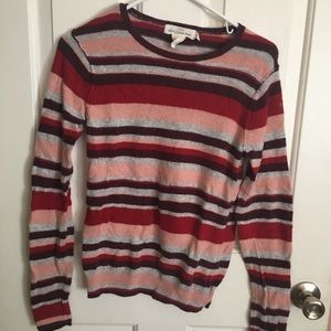 H&M stripped sweater vintage and retro vibes
